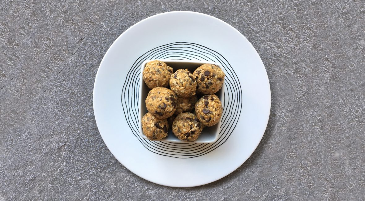 Energy balls flocons d'avoine