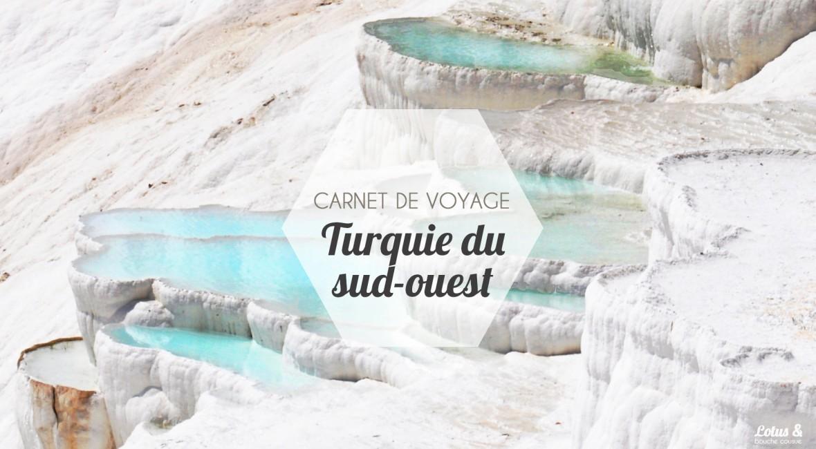Carnet Sud Ouest : carnet de voyage turquie du sud ouest lotus bouche ~ Melissatoandfro.com Idées de Décoration